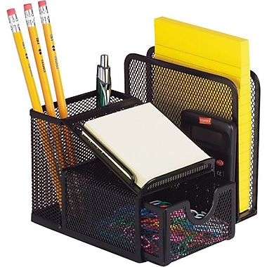 Staples® Metal Mesh Office Manager