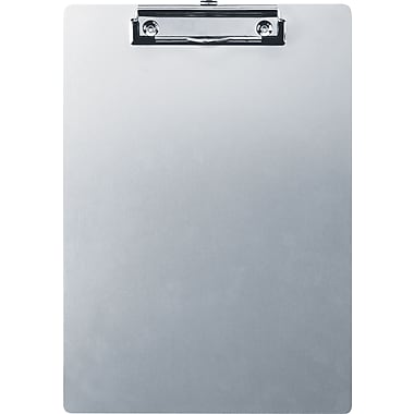 OIC® Letter Size Aluminum Clipboard, 9in. x 12 1/2in.