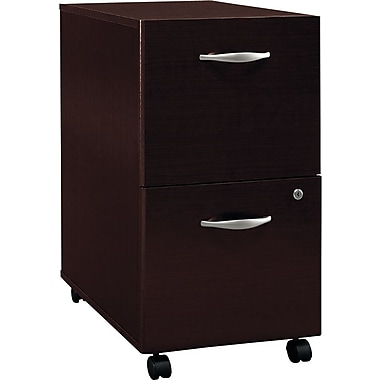 Bush Westfield 2-Drawer File, Mocha Cherry