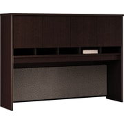 Bush Westfield 60 4-Door Hutch, Mocha Cherry, Fully assembled