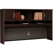 Bush Westfield 72 2-Door Hutch, Mocha Cherry, Fully assembled
