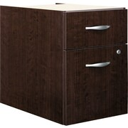 Bush Business Westfield 3/4 Pedestal, Mocha Cherry, Pre-Assembled
