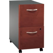 Bush Westfield 2-Drawer File, Hansen Cherry/Graphite Gray