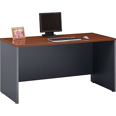 Bush Westfield 60in. Credenza, Hansen Cherry/Graphite Gray