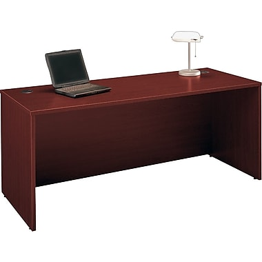 Bush Westfield 72 in Managers Desk, Cherry Mahogany