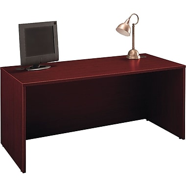 Bush Westfield 66in. Manager's Desk, Cherry Mahogany