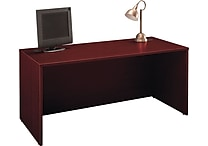 Bush Westfield 66' Manager's Desk, Cherry Mahogany