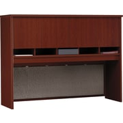 Bush Westfield 60 4-Door Hutch, Hansen Cherry/Graphite Gray, Fully assembled