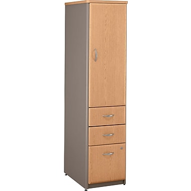 Bush Cubix Vertical Locker, Danish Oak
