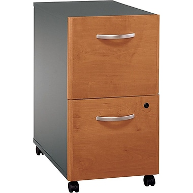 Bush Westfield 2-Drawer File, Natural Cherry/Graphite Gray