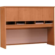 Bush Business Westfield 60W Hutch, Natural Cherry/Graphite Gray