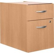 Bush Westfield 3/4 Pedestal File, Danish Oak, Pre-Assembled