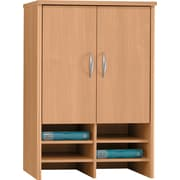 Bush Westfield 30 Storage Hutch, Danish Oak, Fully assembled