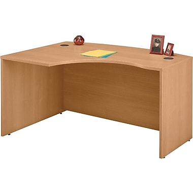 Bush Westfield Left Corner Module, Danish Oak