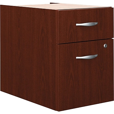 Bush Westfield 3/4 Pedestal File, Cherry Mahogany, Fully assembled