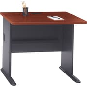 Bush Cubix 36 Desk, Hansen Cherry/Galaxy