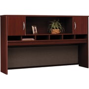 Bush Westfield 72 2-Door Hutch, Cherry Mahogany