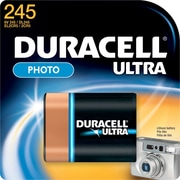 Duracell Ultra Photo 223 Lithium Battery, 6.0-Volt (DL223AB)