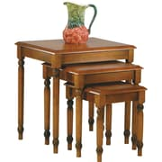 OSP Designs™ Knob Hill 3 Nesting Table Set, Antique Cherry