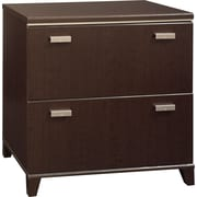 Bush® Tuxedo Collection Lateral File, Mocha Cherry