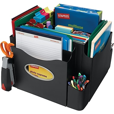 Staples The Desk Apprentice™ Rotating Desk Organizer