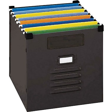 Sandusky Steel Storage Container, Black