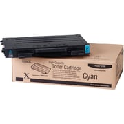 Xerox Phaser 6100 Cyan Toner Cartridge (106R00680), High Yield