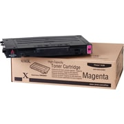 Xerox Phaser 6100 Magenta Toner Cartridge (106R00681), High Yield