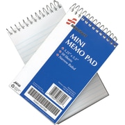 "National Industries Mini-Memo Pad, 3 1/4"" x 5 1/2"", Narrow Ruled, 50 Pages/Pad"