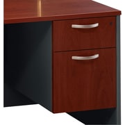 Bush Westfield 3/4 Pedestal File, Hansen Cherry/Graphite Gray