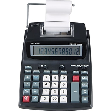 Staples SPL-P500 Printing Calculator