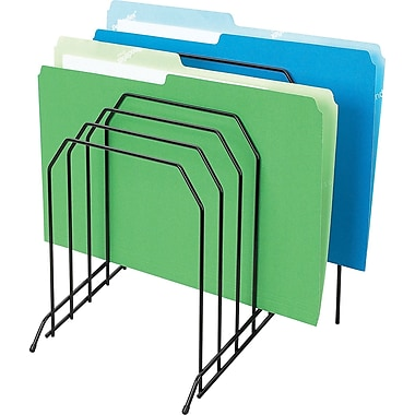 Staples® Wire Desk Step File Sorter, Large