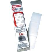Pendaflex® Premium Hanging File Folder Replacement Tab Inserts, Blank