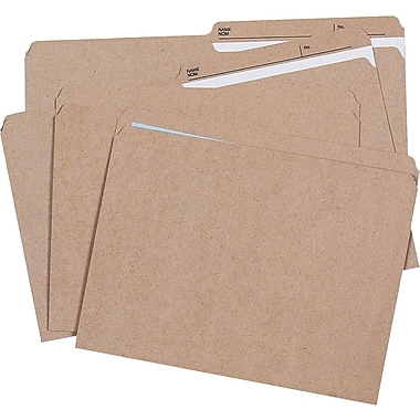 Staples® Recycled File Folders, Straight-Cut