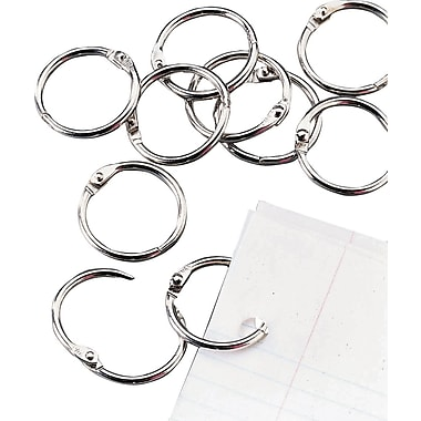 Staples® Loose Leaf Rings