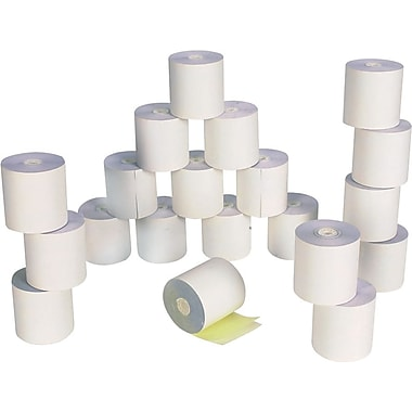 Staples® 2-Part Carbonless Paper Rolls, 3