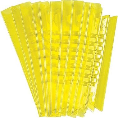 Oxford® - Onglets pour chemises suspendues, 3-1/2 po, jaune