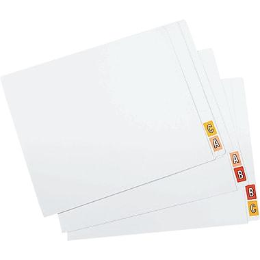 Oxford® Datafile Compatible Full End-Tab File Folders