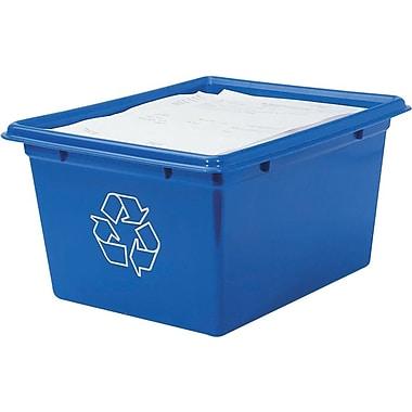 Corbeille de recyclage, format lettre