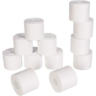 Staples® - Rouleaux de papier, 1 épaisseur, 1 3/4 po x 125 pi, paq./12, blanc