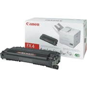 Canon® FX-4 Black Toner Cartridge (1558A002AA)