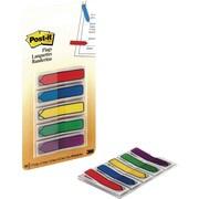 Post-it® - Languettes, mini fléchettes, 1/2 po, couleurs variées, paq./100