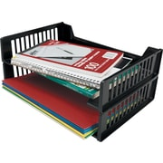 Staples® Letter Tray. Black