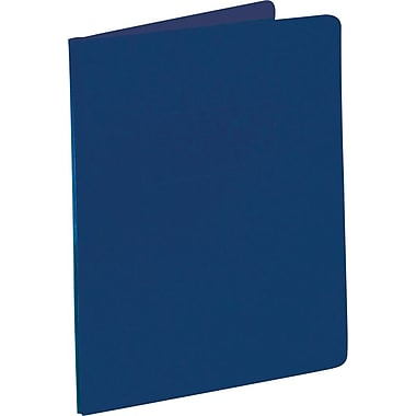 Oxford® High-Capacity Report Covers, Dark Blue