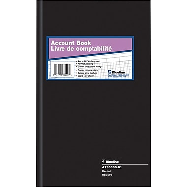 Blueline® Record Book, A790300.01, 12-1/2