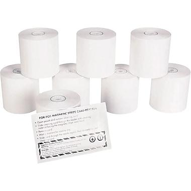 Staples® - Ensemble de rouleaux thermiques pour cartes de crédit/débit, rouleaux de 3 po x 225 pi