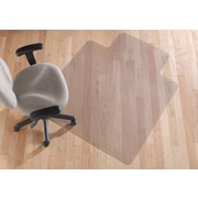 "Staples® Hard-Floor Chairmat, Traditional, 45"" x 53"""