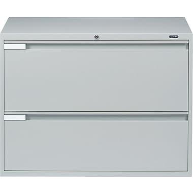 Global® - Classeurs latéraux de série 9100 Plus, 2 tiroirs