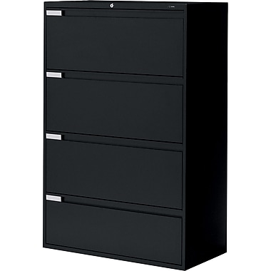 Global® 9100 Plus Series Lateral File Cabinets, 4-Drawer