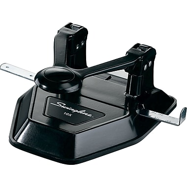 Swingline® Lever Professional 2-Hole Punch, 20-Sheet Capacity